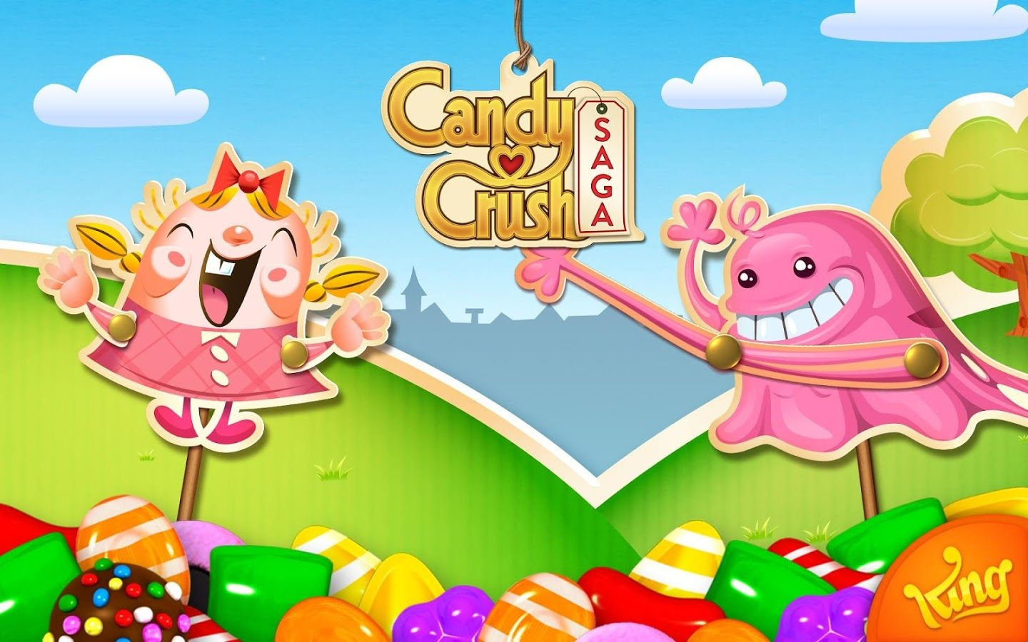 游戏《candy crush》