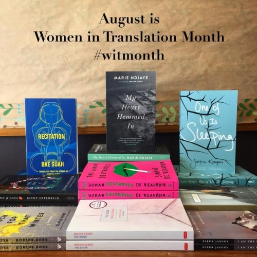 Women in Translation Month