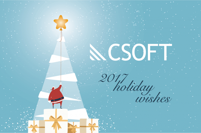 csoft holiday wishes!