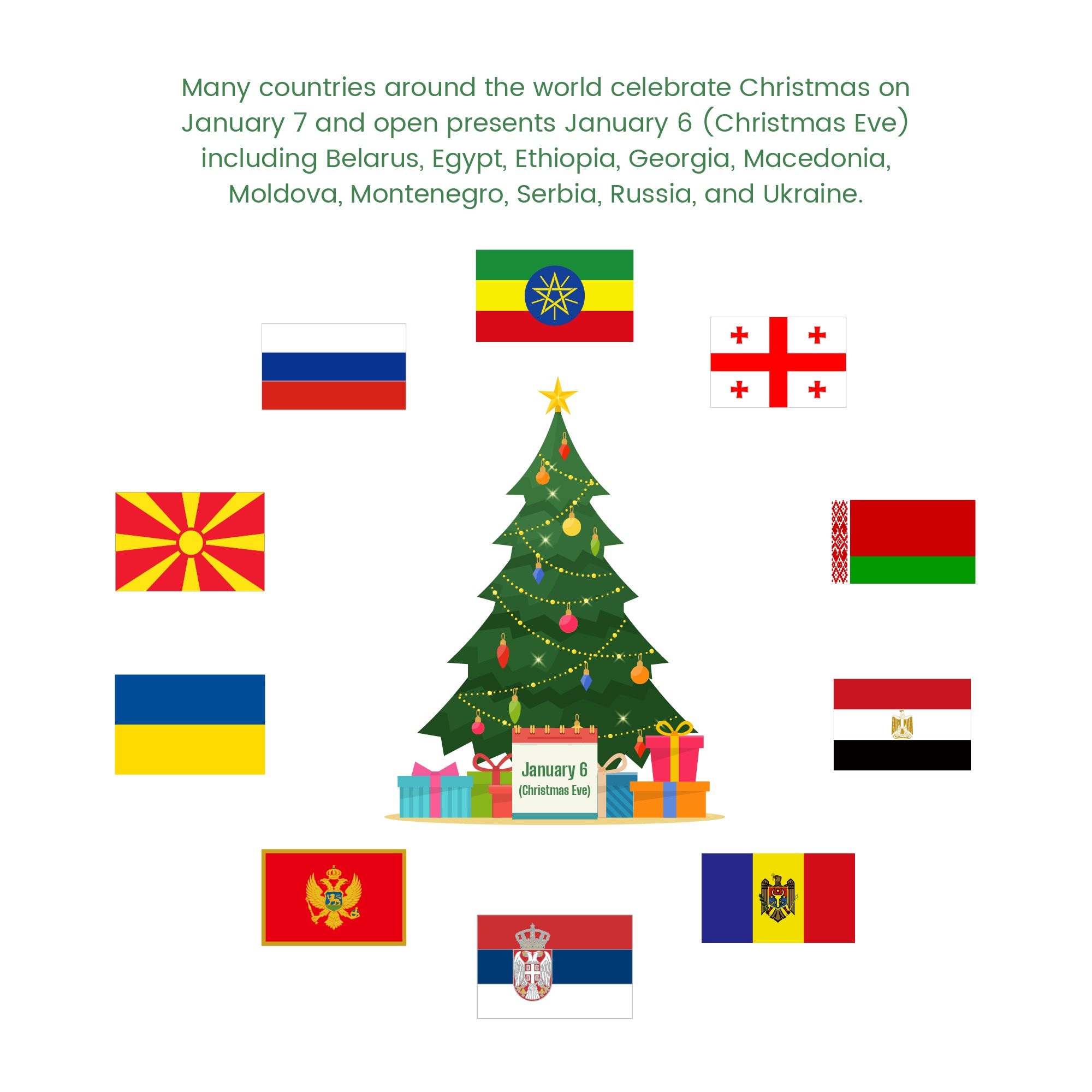Gather round the tree for global holidays and celebrations