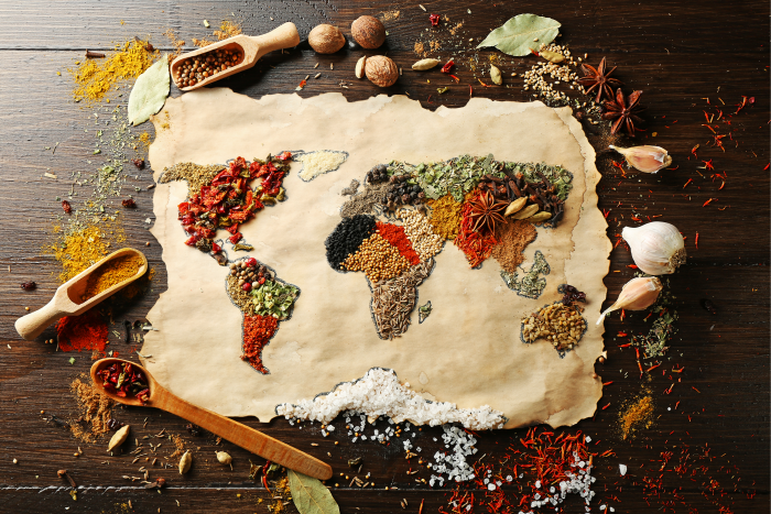 Like the original spice trade itself, kitchenware translations bring us the flavor of cultures from around the world today.