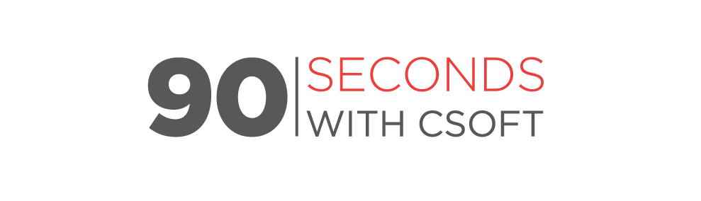 90secondswithCSOFT