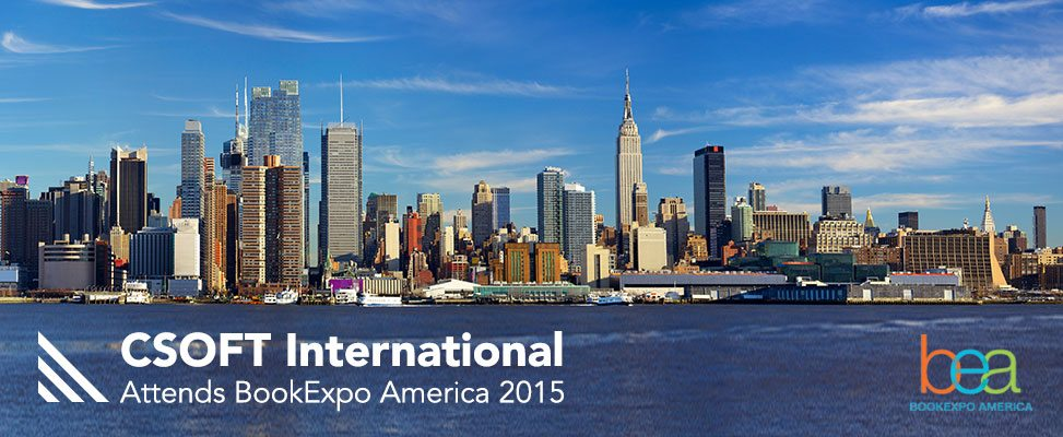2015 BookExpo America: CSOFT is There