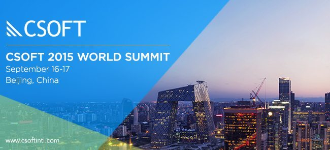CSOFT 2015 World Summit