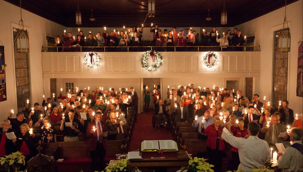 Christmas Eve at First Presbyterian