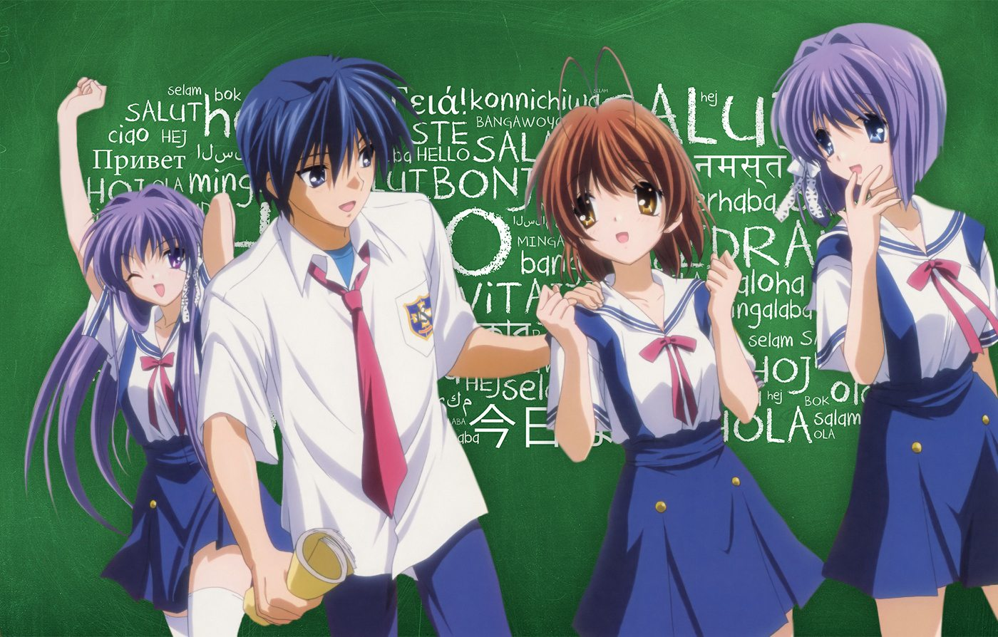Kickstarting Localization for Clannad