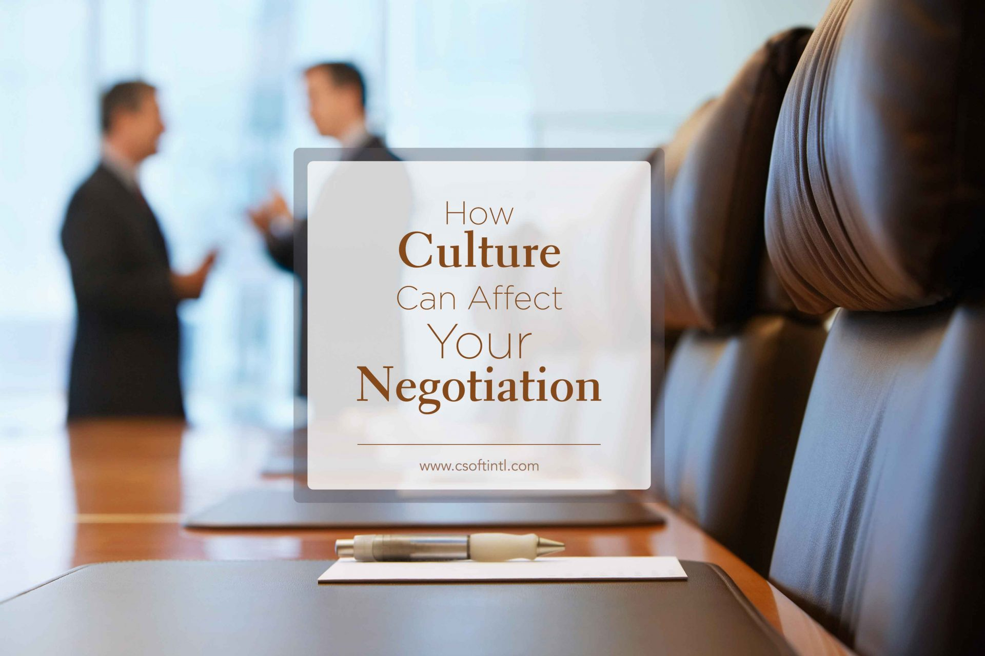 culture negotiation