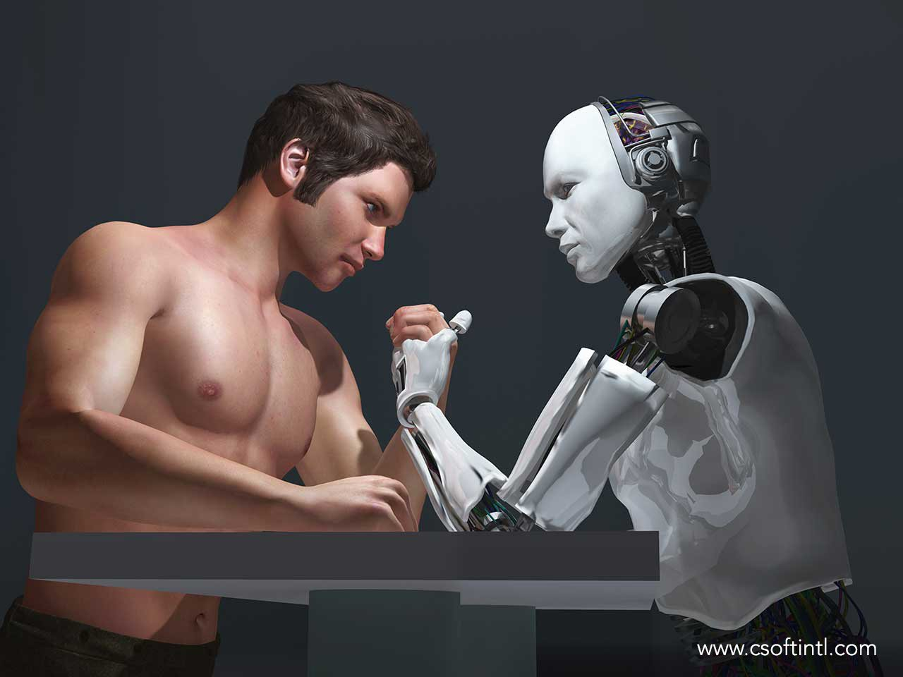 The Great Debate Machine vs Human