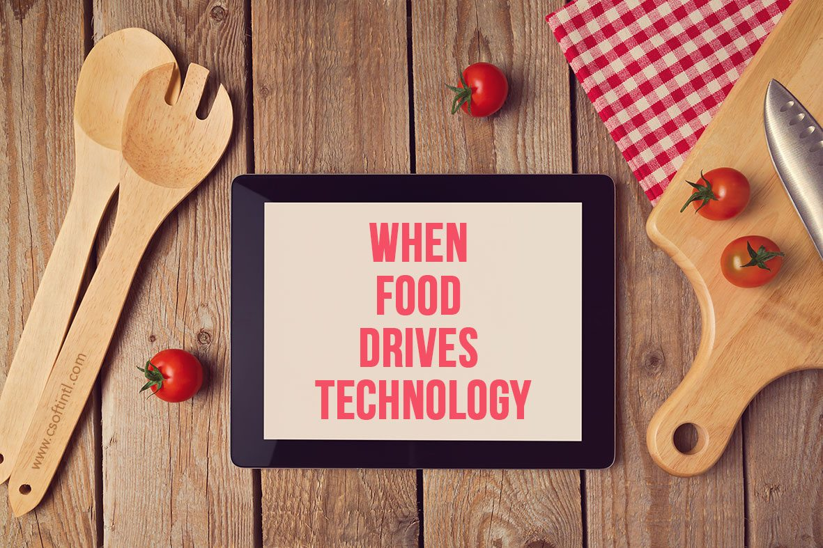 When Food Drives Technology Image