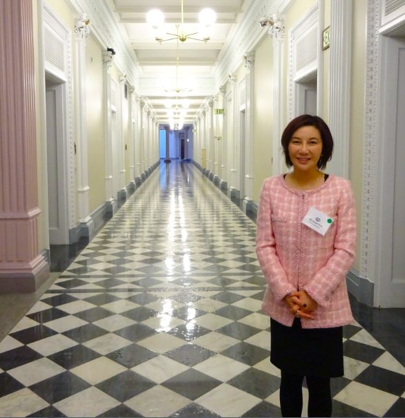 Shunee Yee Visits the White House, Supports Women in Business