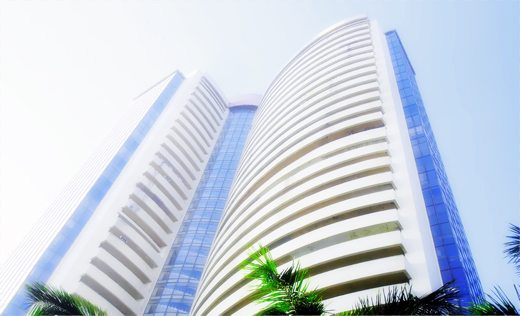 India's Phiroze Jeejeebhoy Towers, which houses the Mumbai Stock Exchange.