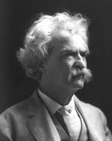 Samuel Langhorne Clemens, a.k.a. Mark Twain and his awesome-tacular mustache