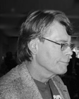 A picture of Stephen King, American Author of over 40 novels and countless other written works.