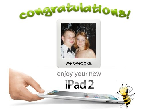 A image of TermWiki user welovedoka, winner of the TermWiki iPad2 contest.